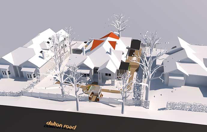 Dalton Road Project 3D render