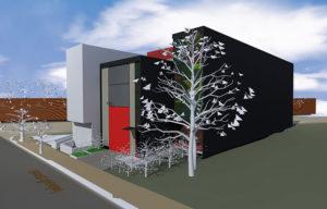 Luland St 3D render