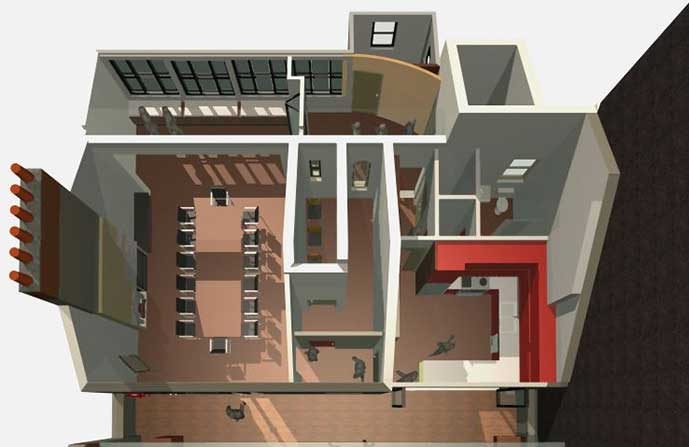 RACP Project 3D render