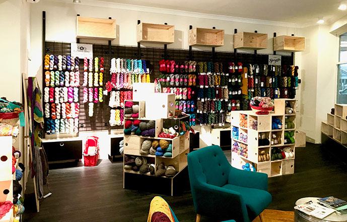 Skein Sisters interior yarn